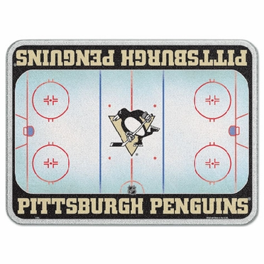 Pittsburgh Penguins 11 x 15 Glass Cutting Board