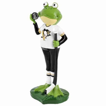 Pittsburgh Penguins 12 Inch Frog Player Figurine