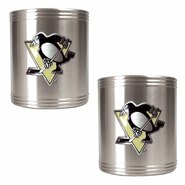 Pittsburgh Penguins 2 Can Holder Set