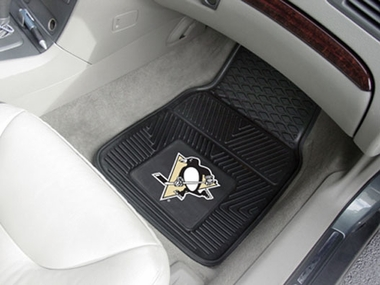 Pittsburgh Penguins 2 Piece Heavy Duty Vinyl Car Mats