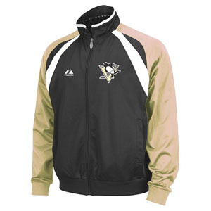 Pittsburgh Penguins 2011 Therma Base Track Jacket - X-Large