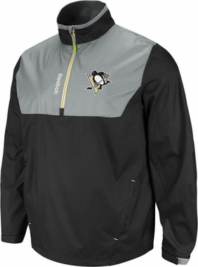 Pittsburgh Penguins 2012 1/4 Zip Performance Hot Jacket