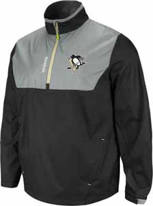 Pittsburgh Penguins 2012 1/4 Zip Performance Hot Jacket - Medium