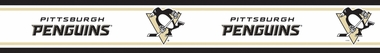 Pittsburgh Penguins 5.5 Inch (Height) Wallpaper Border