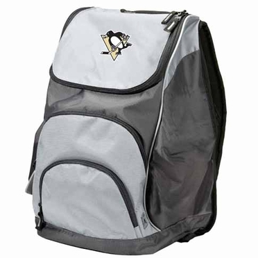Pittsburgh Penguins Action Backpack (Color: Grey)