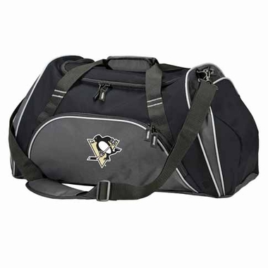 Pittsburgh Penguins Action Duffle (Color: Black)