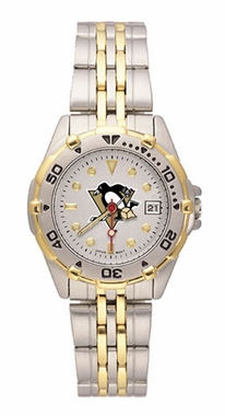 Pittsburgh Penguins All Star Womens (Steel Band) Watch