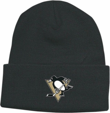 Pittsburgh Penguins Basic Logo Cuffed Knit Hat