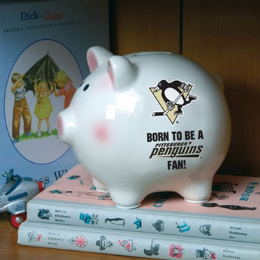 Pittsburgh Penguins (Born to Be) Piggy Bank