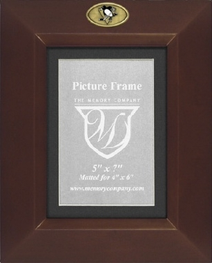 Pittsburgh Penguins BROWN Portrait Picture Frame