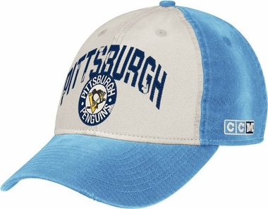 Pittsburgh Penguins CCM Throwback Adjustable Slouch Hat