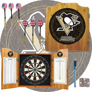 Pittsburgh Penguins Complete Dart Cabinet