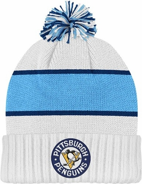 Pittsburgh Penguins Cuffed Knit Pom Hat