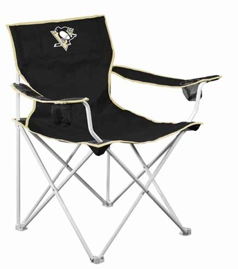 Pittsburgh Penguins Deluxe Adult Folding Logo Chair