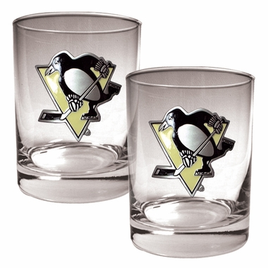 Pittsburgh Penguins Double Rocks Set