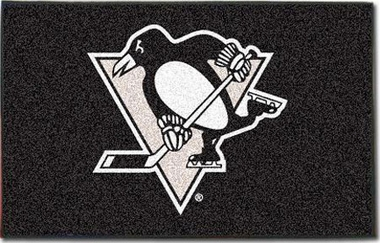 Pittsburgh Penguins Economy 5 Foot x 8 Foot Mat