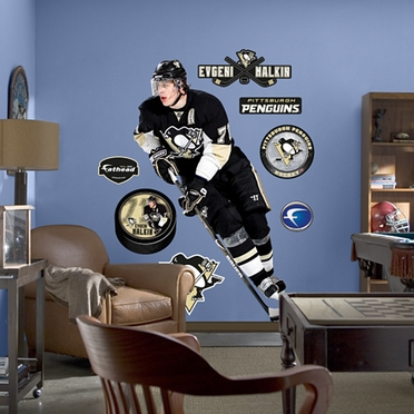 Pittsburgh Penguins Evgeni Malkin Fathead Wall Graphic