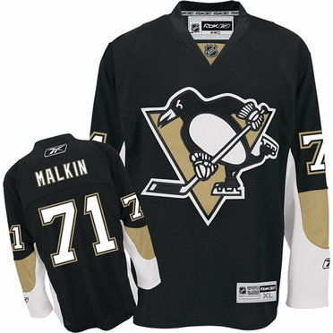 Pittsburgh Penguins Evgeni Malkin Reebok Team Color Premier Jersey