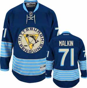 Pittsburgh Penguins Evgeni Malkin Team Color Premier Jersey - Medium