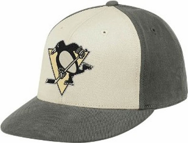 Pittsburgh Penguins Flat Bill Flex Hat - Small / Medium