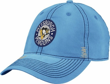 Pittsburgh Penguins Garment Washed Meshback Flex Slouch Hat