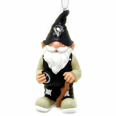 Pittsburgh Penguins Gnome Christmas Ornament