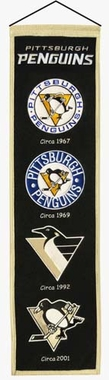 Pittsburgh Penguins Heritage Banner