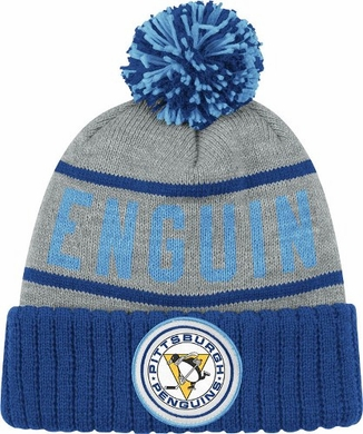 Pittsburgh Penguins High 5 Vintage Cuffed Pom Hat