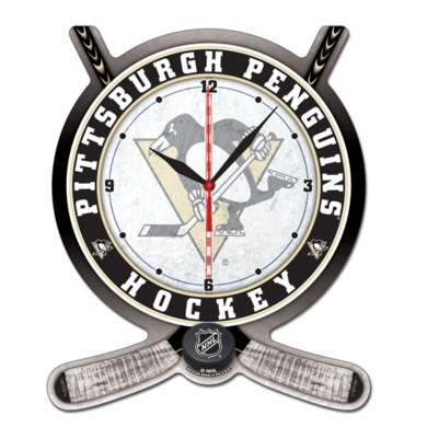 Pittsburgh Penguins High Definition Wall Clock