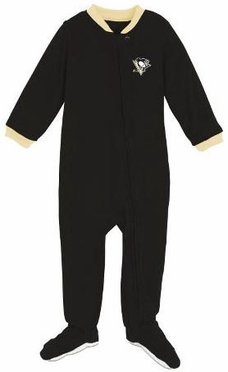 Pittsburgh Penguins Infant Footed Sleeper Pajamas