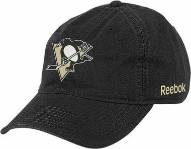 Pittsburgh Penguins Logo Team Slouch Adjustable Hat