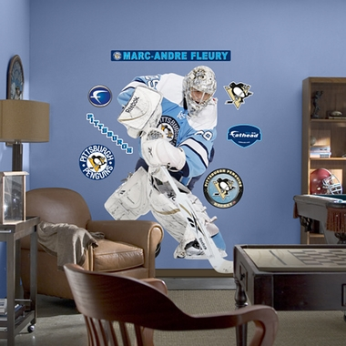 Pittsburgh Penguins Marc-Andre Fleury Fathead Wall Graphic