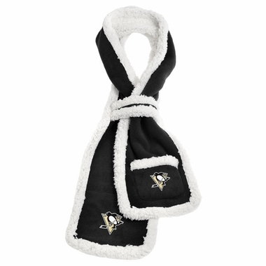 Pittsburgh Penguins NHL Team Sherpa Scarf