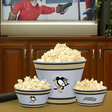 Pittsburgh Penguins Plastic Serving Set