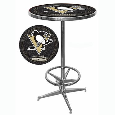 Pittsburgh Penguins Pub Table