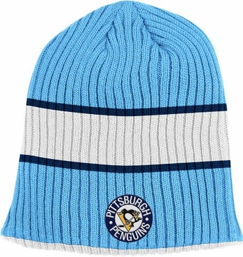 Pittsburgh Penguins Retro Reversible Cuffless Knit Hat