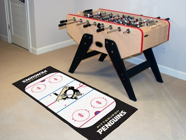 Pittsburgh Penguins Rink Runner Rug