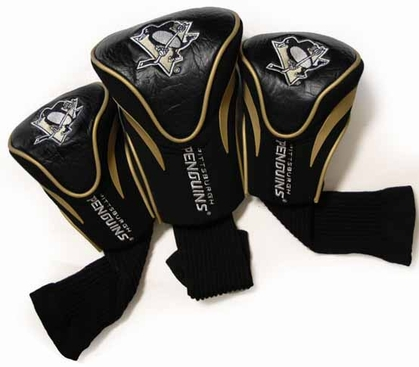 Pittsburgh Penguins Set of Three Contour Headcovers