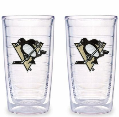Pittsburgh Penguins Set of TWO 16 oz. Tervis Tumblers