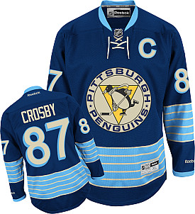 Pittsburgh Penguins Sidney Crosby Reebok Alternate Premier Jersey