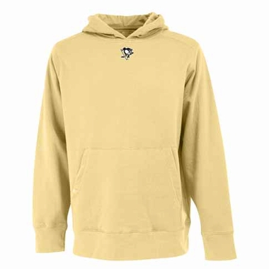 Pittsburgh Penguins Mens Signature Hooded Sweatshirt (Alternate Color: Gold)