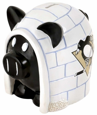 Pittsburgh Penguins Piggy Bank - Thematic Small