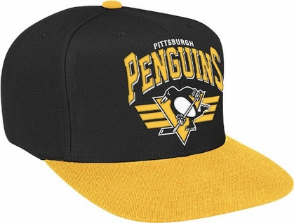 Pittsburgh Penguins Stadium Throwback Snapback Hat