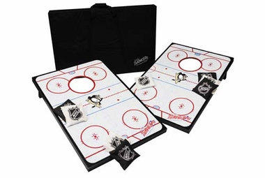 Pittsburgh Penguins Tailgate Toss Cornhole Beanbag Game