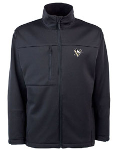 Pittsburgh Penguins Mens Traverse Jacket (Team Color: Black) - Large