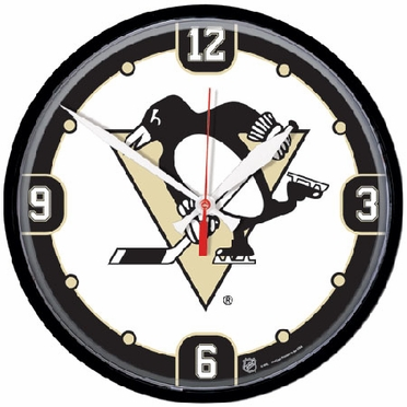 Pittsburgh Penguins Wall Clock