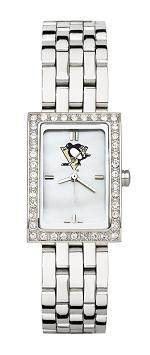 Pittsburgh Penguins Women's Steel Band Allure Watch