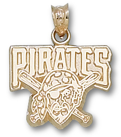 Pittsburgh Pirates 10K Gold Pendant