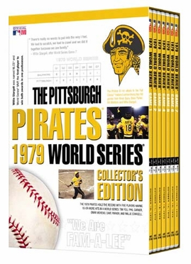 Pittsburgh Pirates 1979 World Series Collector's Edition DVD Set