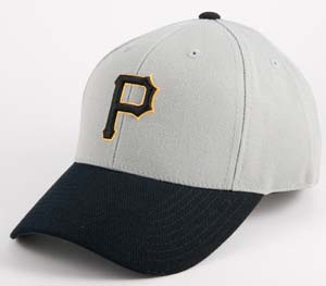 American Needle Pittsburgh Pirates 1994 Authentic Cooperstown Fitted Cap - Size 7 3/4